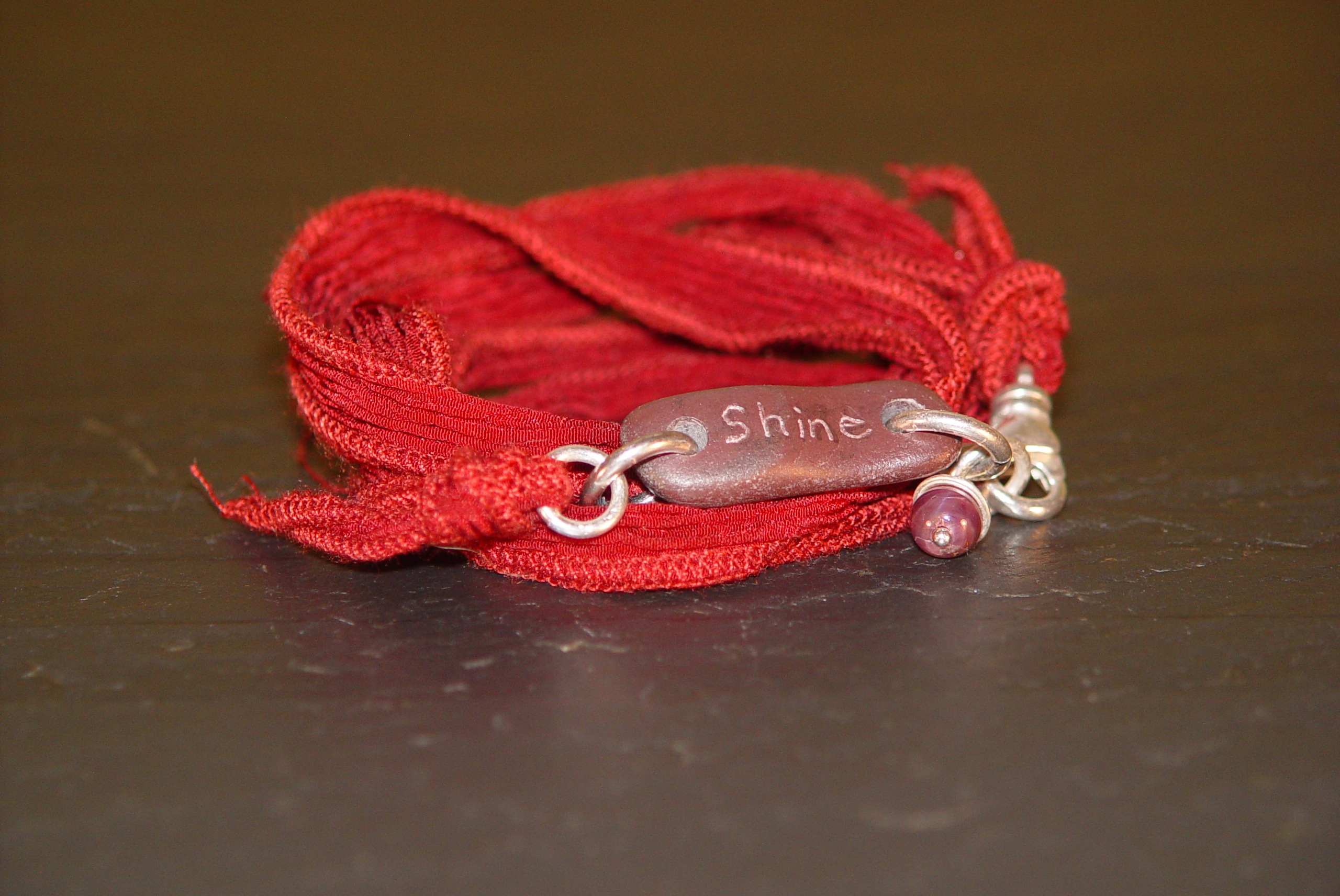 Cayenne Warrior Wrap with Silk and Ruby